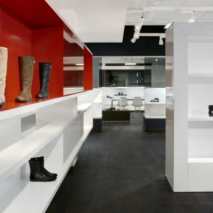 Interior Photography - Esprit Shoes