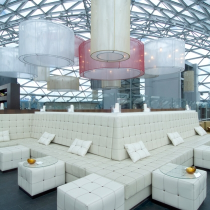 Interior Photography - O2 Lounge Moskau