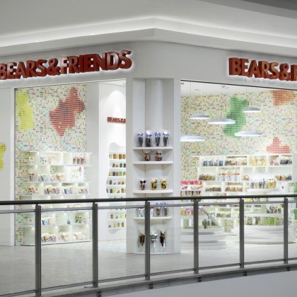 Store Photography - Markus Kratz - Interior Photography - Bears & Friends - Gummibären Laden - Hagen