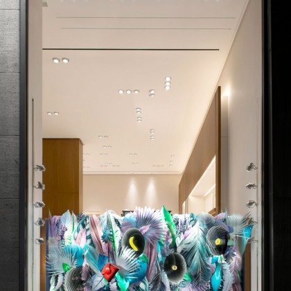 Retail Photography | Markus Kratz | Interior Photography | Hermes Düsseldorf, Königs Allee | Schaufenster